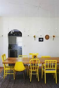 Design Stühle Esszimmer : gelber stuhl frische beispiele ~ Orissabook.com Haus und Dekorationen