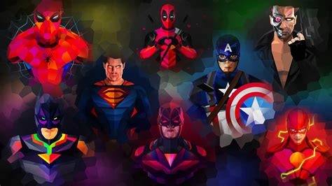 Get Cool Superhero Wallpapers For Pc PNG