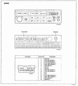 2000 Hyundai Accent Radio Wiring Diagram