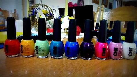 Chi Nail Polish Collection For Sale On Ebay Now! Each