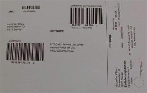 Dhl retoure einfache retouren abwicklung fur ihre kunden dhl / ship and track parcels with dhl express. Retourenschein von Medion bekommen und weiß nicht was ich tun soll--- (Retoure)