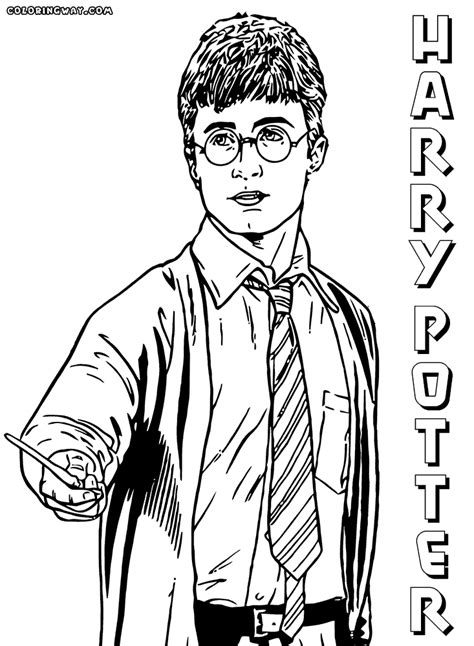 harry potter coloring pages harry potter coloring