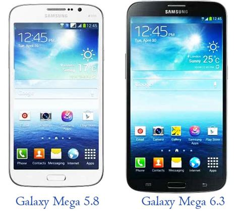 samsung mega phone samsung galaxy mega 6 3 and 5 8 price with features