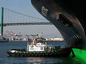 Tugboat Emissions by World S First Hybrid Tug Beats Standard Vessel In