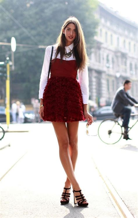 HOW TO LAYER A T-SHIRT UNDER A DRESS u2013 Our Favorite Style
