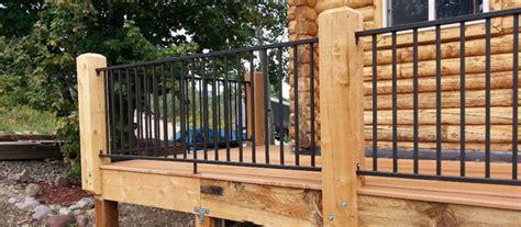rawd iron railing metal porch railings wrought iron railing rdi 5 rod rails cable 6 decks com deck 11 new building