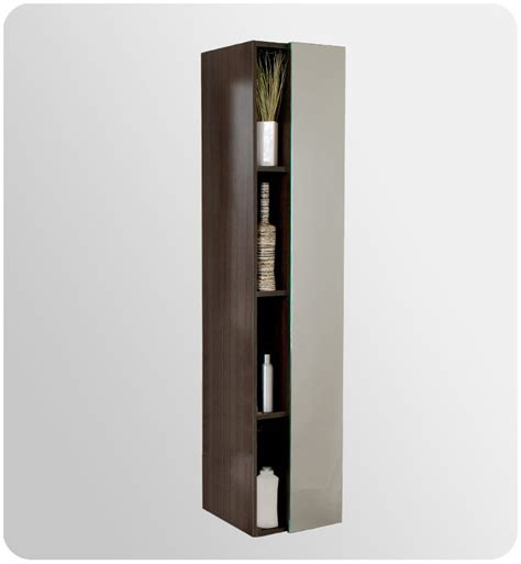 narrow linen cabinet with doors fresca fst8070go gray oak 67 quot freestanding bathroom linen