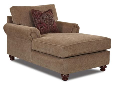 greenvale traditional chaise lounge  klaussner wolf