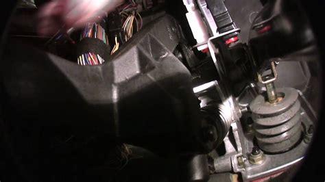 bmw  clutch pedal bushing install video youtube