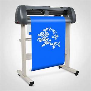 28quot vinyl sign sticker cutting plotter machine with With vinyl letter cutter printer