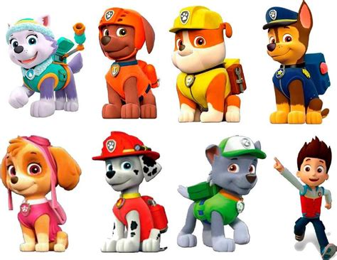 paw patrol 3d wall sticker set decor decal stickers 6 quot each stickers ebay
