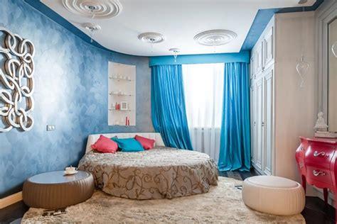 chambre lit rond lit rond au cœur d une chambre au design original