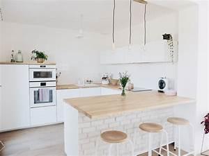 Cuisines Ikea 2018 : construction maison notre cuisine blanche et pur e ~ Nature-et-papiers.com Idées de Décoration