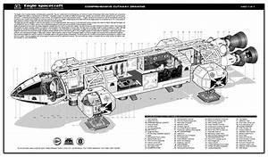 Eagle Diagram   Space 1999
