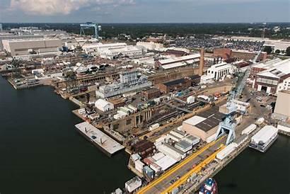 Huntington Ingalls Newport Shipbuilding Yard Industries Shipyard