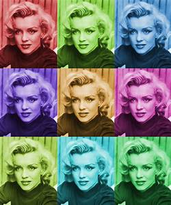 Marilyn Monroe Collage Per0601619F Fine Art Print ...