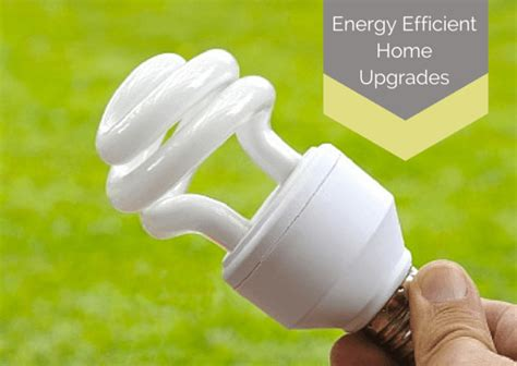 energy efficient updates   home
