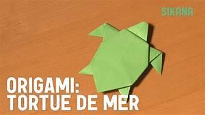 Origami Animaux Facile Gratuit : origami tortue de mer hd youtube ~ Dode.kayakingforconservation.com Idées de Décoration