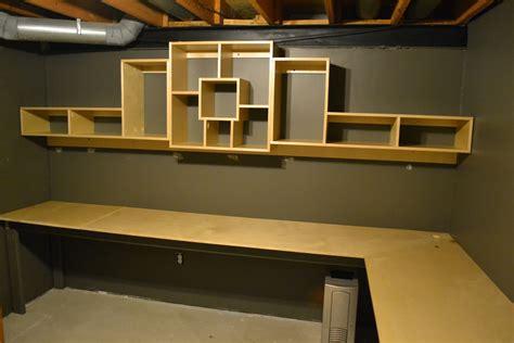 bryans site basement office shelf