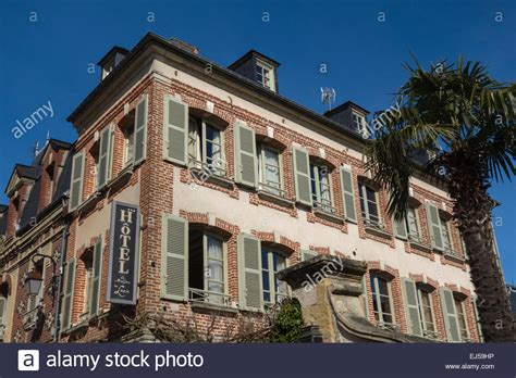 h 244 tel la maison de honfleur normandy built 1850 the 1874 stock photo royalty free