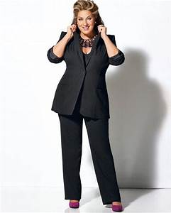Tenue Mariage Pantalon Et Tunique : tailleur pantalon femme grande taille pr t porter ~ Melissatoandfro.com Idées de Décoration