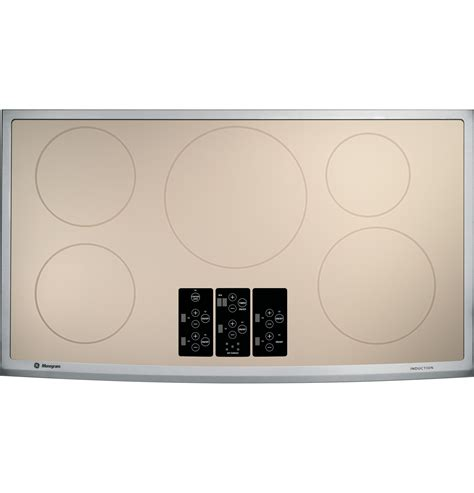 ge monogram  induction cooktop zhursmss ge appliances