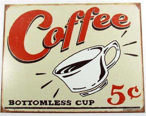 Coffee 5 Cents Retro Metal Sign Gloria Jeans Coffee Cups Cheap Tables The Range New Brunswick Vancouver Bangladesh Table Ireland Starbucks Menu Pictures In Kenya