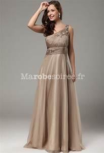 robe de bal asymetrique avec rubans flottants mousseline With robe longue pour mariage pas cher