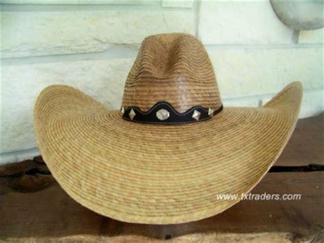 west texas quemada camechana palm cowboy hat