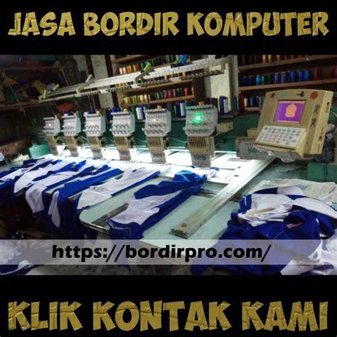 Jasa Bordir Komputer Baju Murah Surabaya