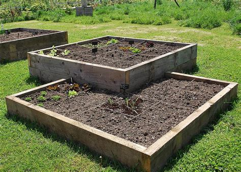 square foot gardening keyhole beds  garden deli