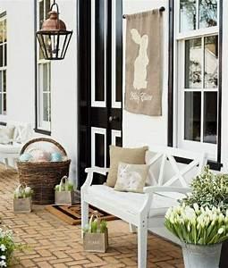 Porche Entrée Maison : a p ques offrez une d co de f te votre porche d 39 entr e ~ Premium-room.com Idées de Décoration