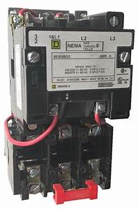 Square D 8536sbo2 Size 0 Nema Rated Starter With A Melting