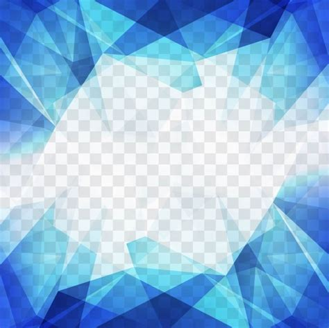 Abstract Blue Shapes Background by This Colorful Page Border Is Made Up Of Abstract Shapes