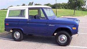 1974 74 Ford Bronco For Sale - Rust Free And Uncut