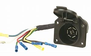 Hopkins Towing Solution 41145 7 Blade Vehicle To Trailer Wiring Harness