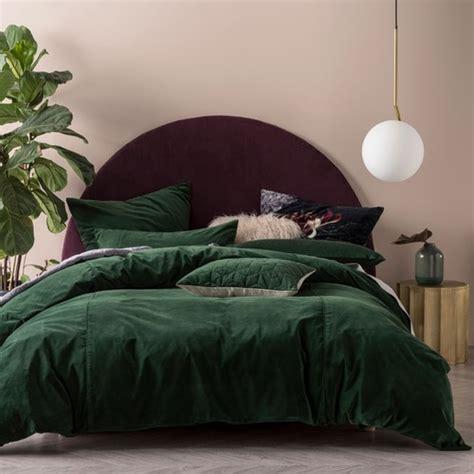 linen house ivy deluxe velvet quilt cover set reviews
