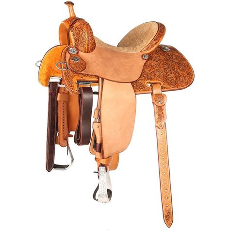 barrel saddle saddles racing martin natural tack horse antiqued alpine rough forward