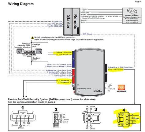 Remote Starter Wiring Info Pics Match Page