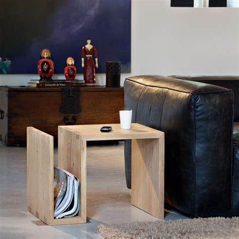 table basse bout de canap 1000 idées à propos de bout de canapé bois sur