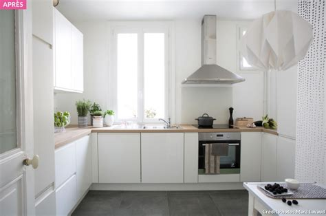 petit plan de travail cuisine relooking cuisine travaux cuisine transformer maison
