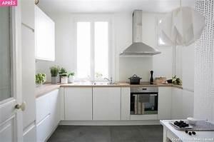 revgercom quel sol pour une cuisine blanche idee With quel carrelage pour une cuisine