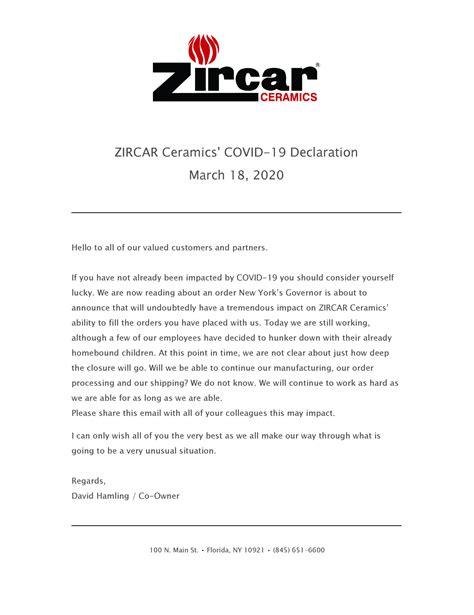 COVID-19 Declaration