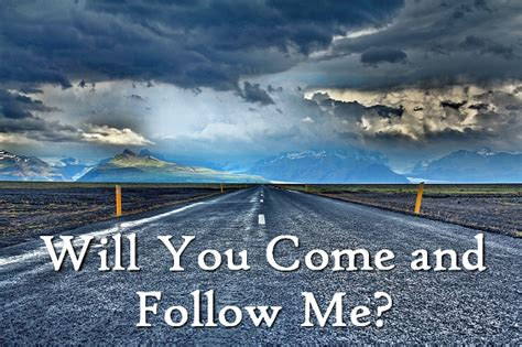 The Summons (will You Come And Follow Me) Godsongsnet