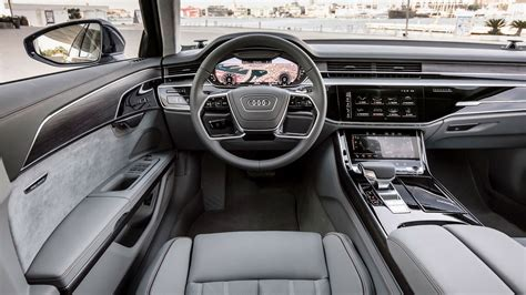 audi a8 interior audi a8 2017 review by car magazine