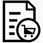 Shopping Icon Cart Grocery Items Icons Puchases