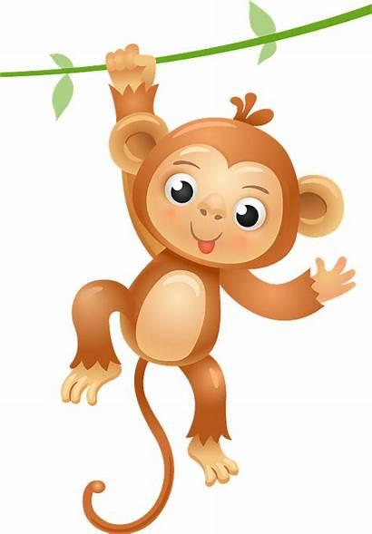 Monkey Clipart Monkeys Cartoon Animals Clip Transparent