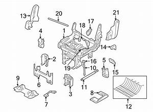 Ford Expedition Seat Lift Support  40  Rear Seat  Rear