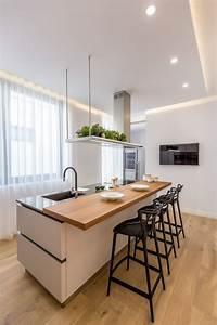 Ikea Beleuchtung Küche : pin von e m i auf home design wohnung k che dekoration luxus k che design und penthouse wohnung ~ Watch28wear.com Haus und Dekorationen