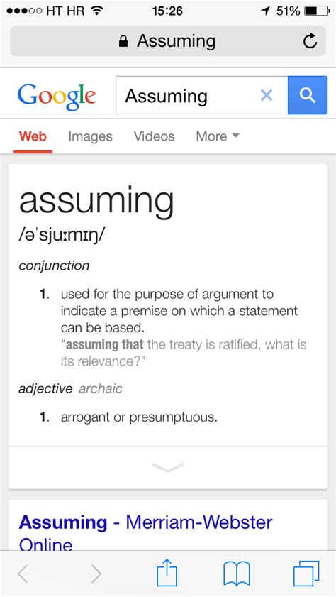 Define The Word Presume by How To Manage Dictionaries And Look Up Word Definitions On Iphone And
